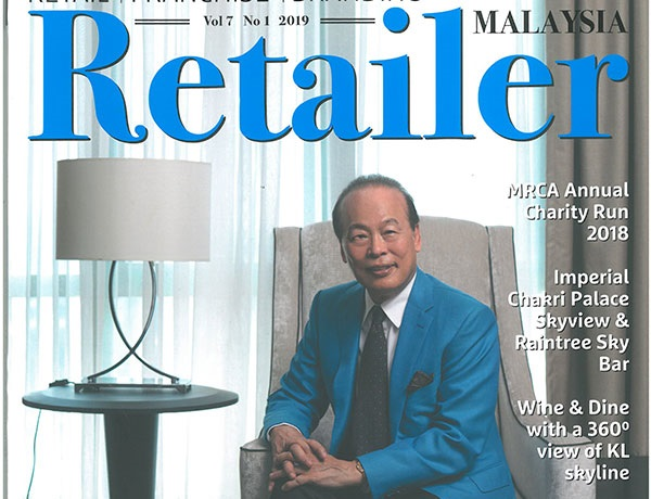 Dr. Tei-Fu Chen Interviewed by Malaysia Retailer Magazine