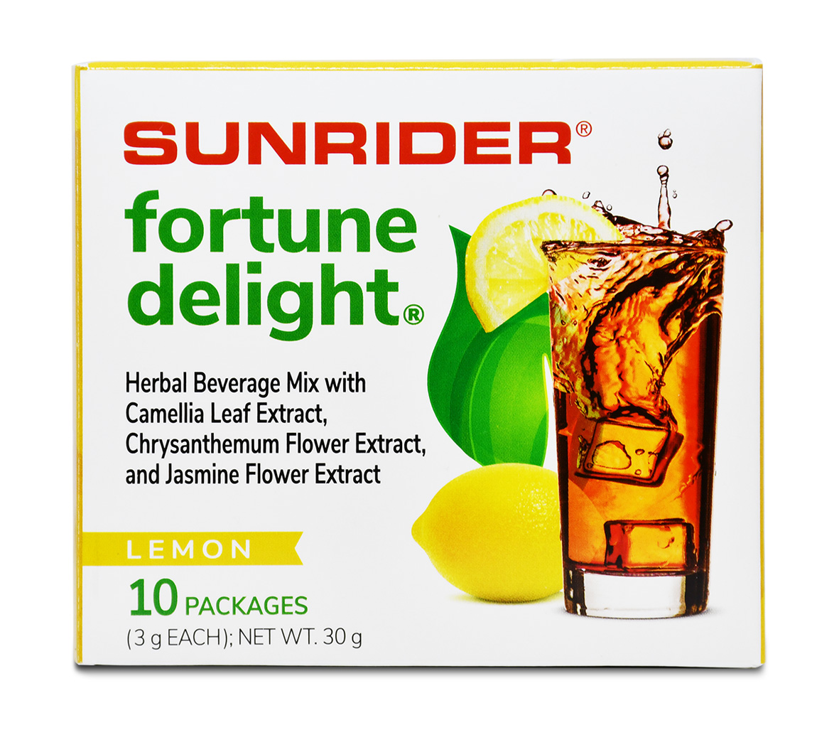 FORTUNE DELIGHT<sup>®</sup> LEMON (10/3g packs)