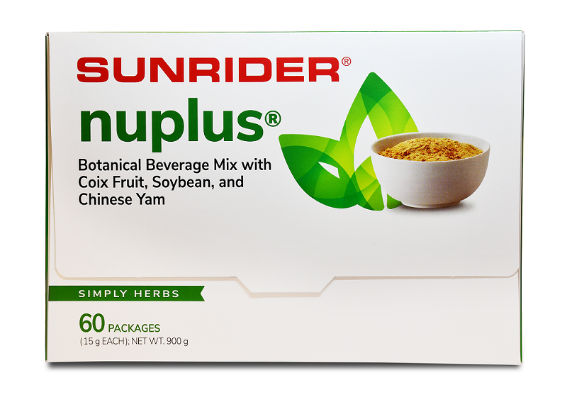 NUPLUS<sup>®</sup> SIMPLY HERBS (60/15g packs)