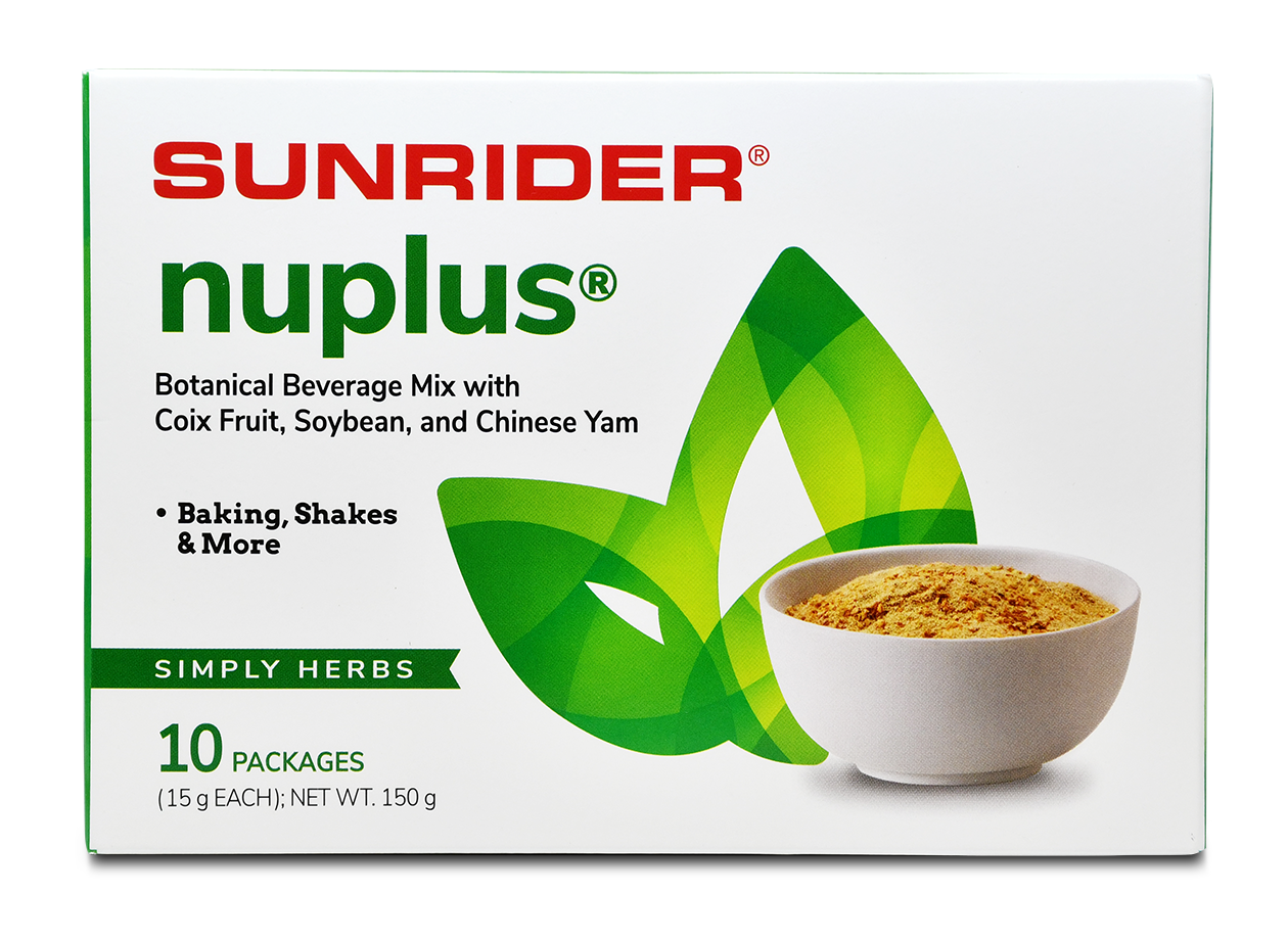 NUPLUS<sup>®</sup> SIMPLY HERBS (10/15g packs)