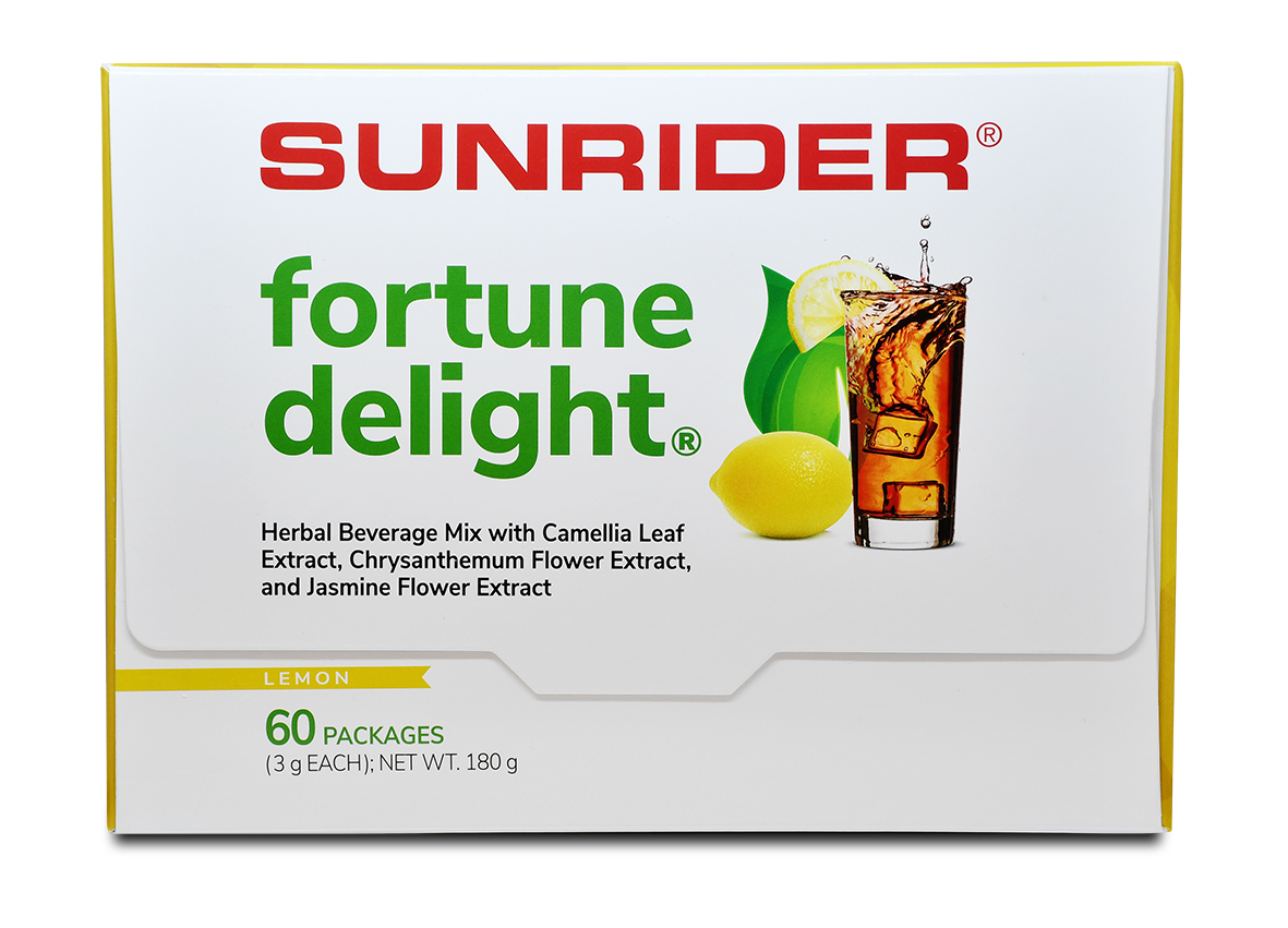 FORTUNE DELIGHT<sup>®</sup> LEMON (60/3g bags)