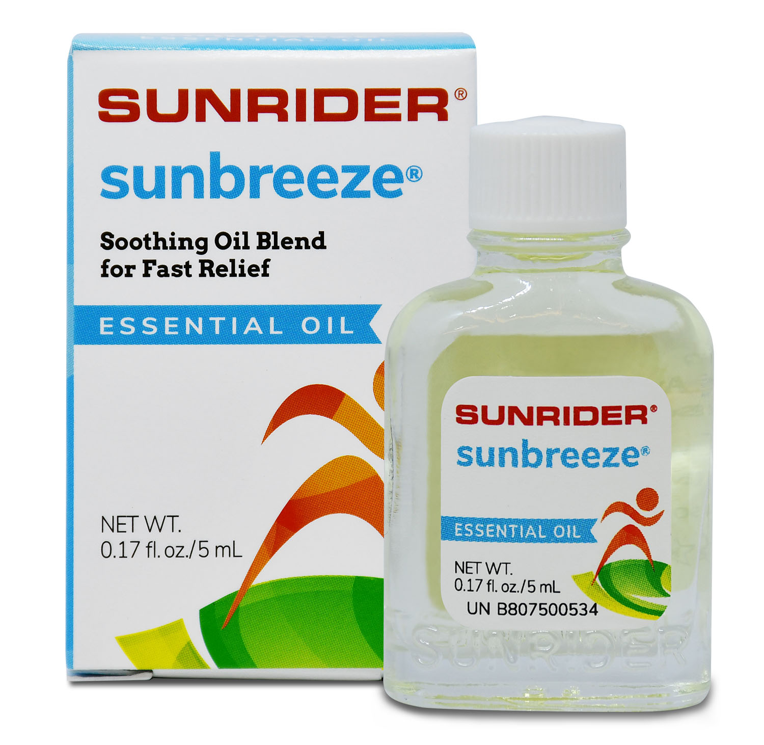 SUNBREEZE<sup>®</sup> ESSENTIAL OIL (6/.17 fl. oz. bottles)