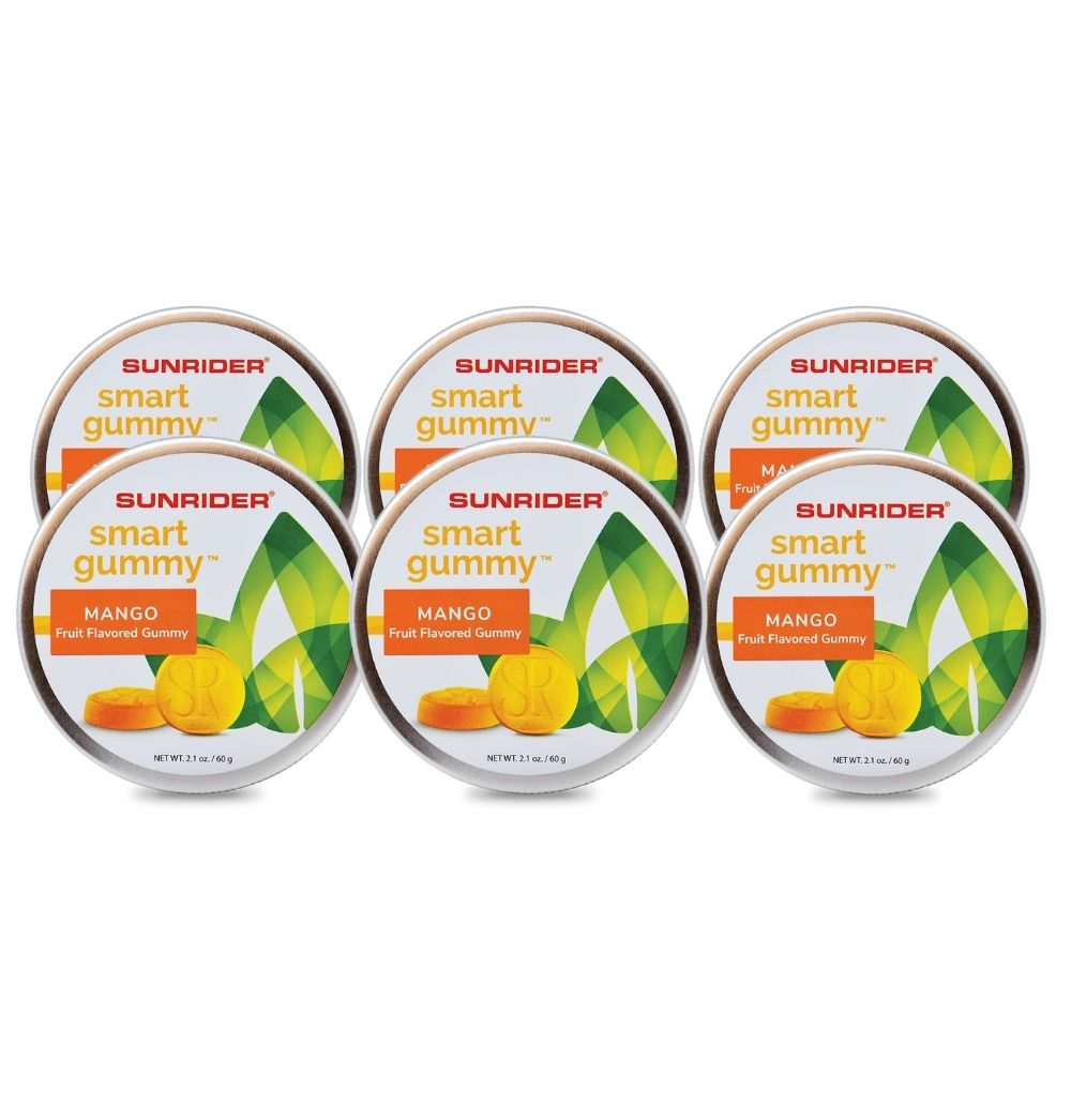 SMART GUMMY® MANGO (6/2.1 oz. tins)