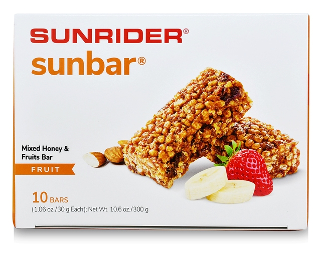 VITALITE<sup>®</sup>SUNBAR<sup>®</sup> FRUIT (10/1.06 oz. bars)