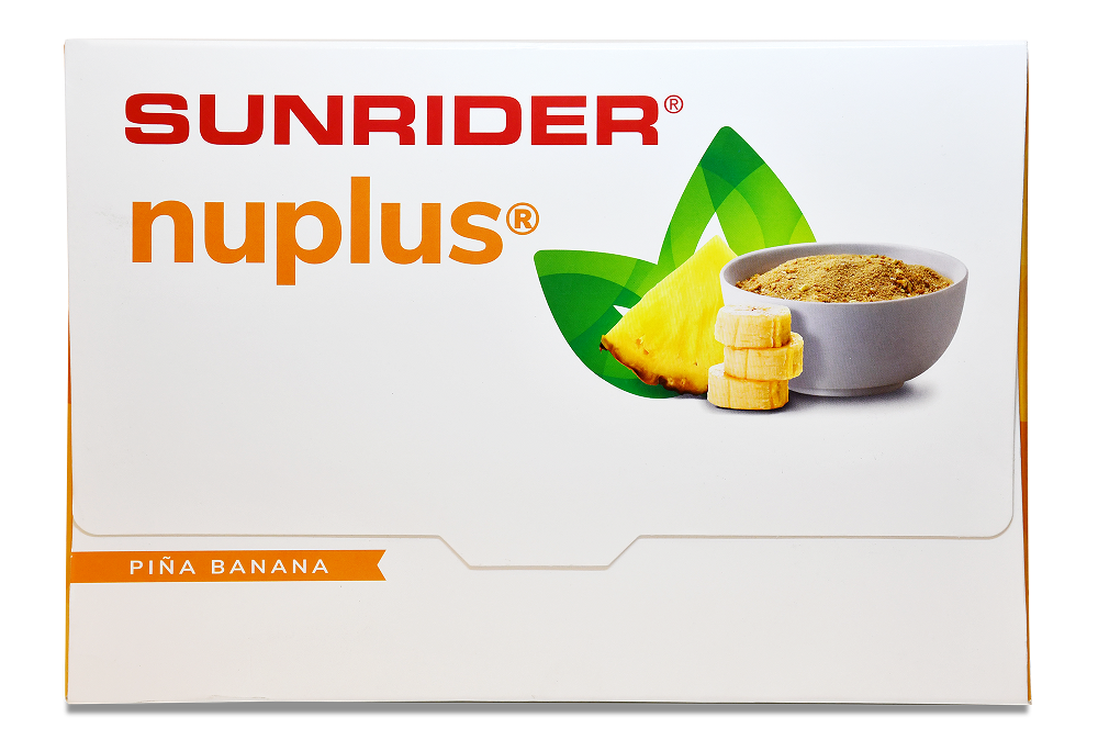 NUPLUS<sup>®</sup> PINA BANANA (60/15g packs)