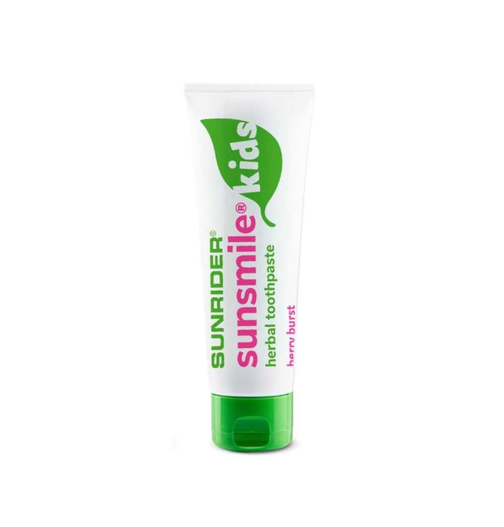 SUNSMILE® KIDS HERBAL TOOTHPASTE BERRY BURST 4.75oz.
