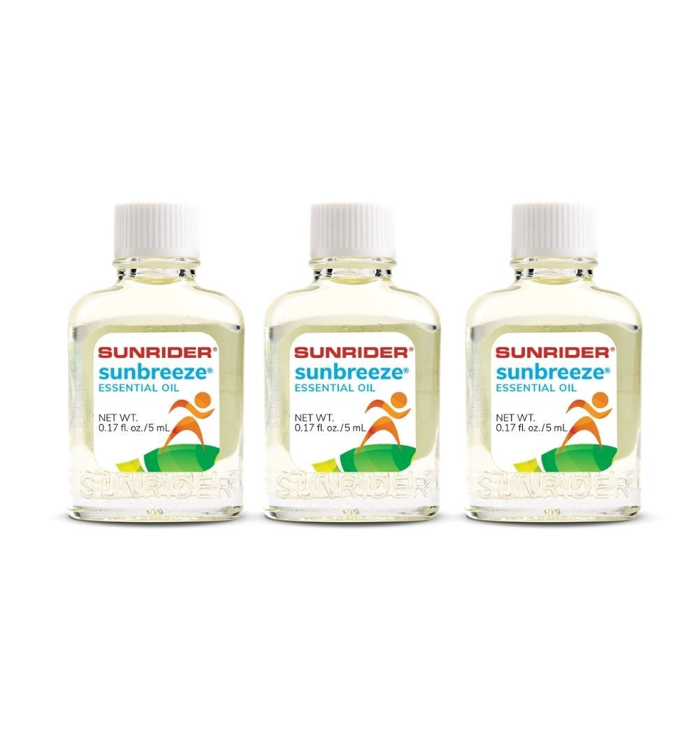 SUNBREEZE<sup>®</sup> ESSENTIAL OIL (3/.17 fl. oz. bottles)