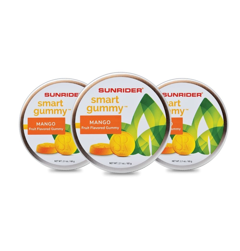 SMART GUMMY® MANGO (3/2.1 oz. tins)
