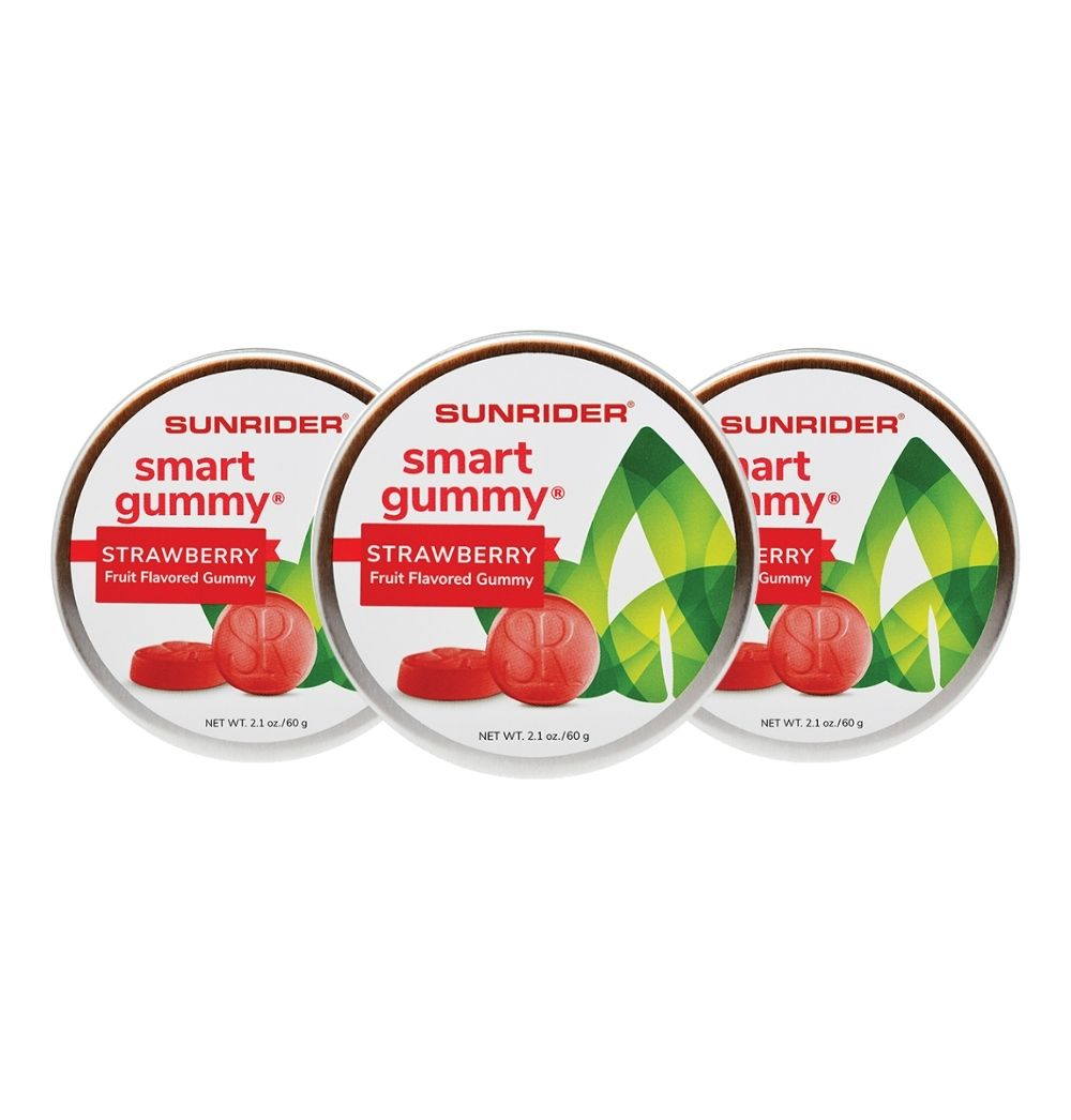 SMART GUMMY® STRAWBERRY (3/2.1 oz. tins)