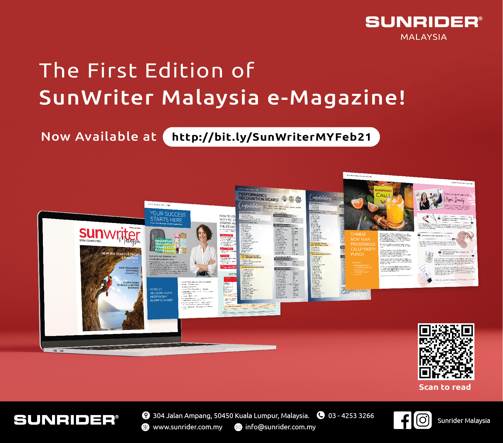 The First Edition of SunWriter Malaysia!