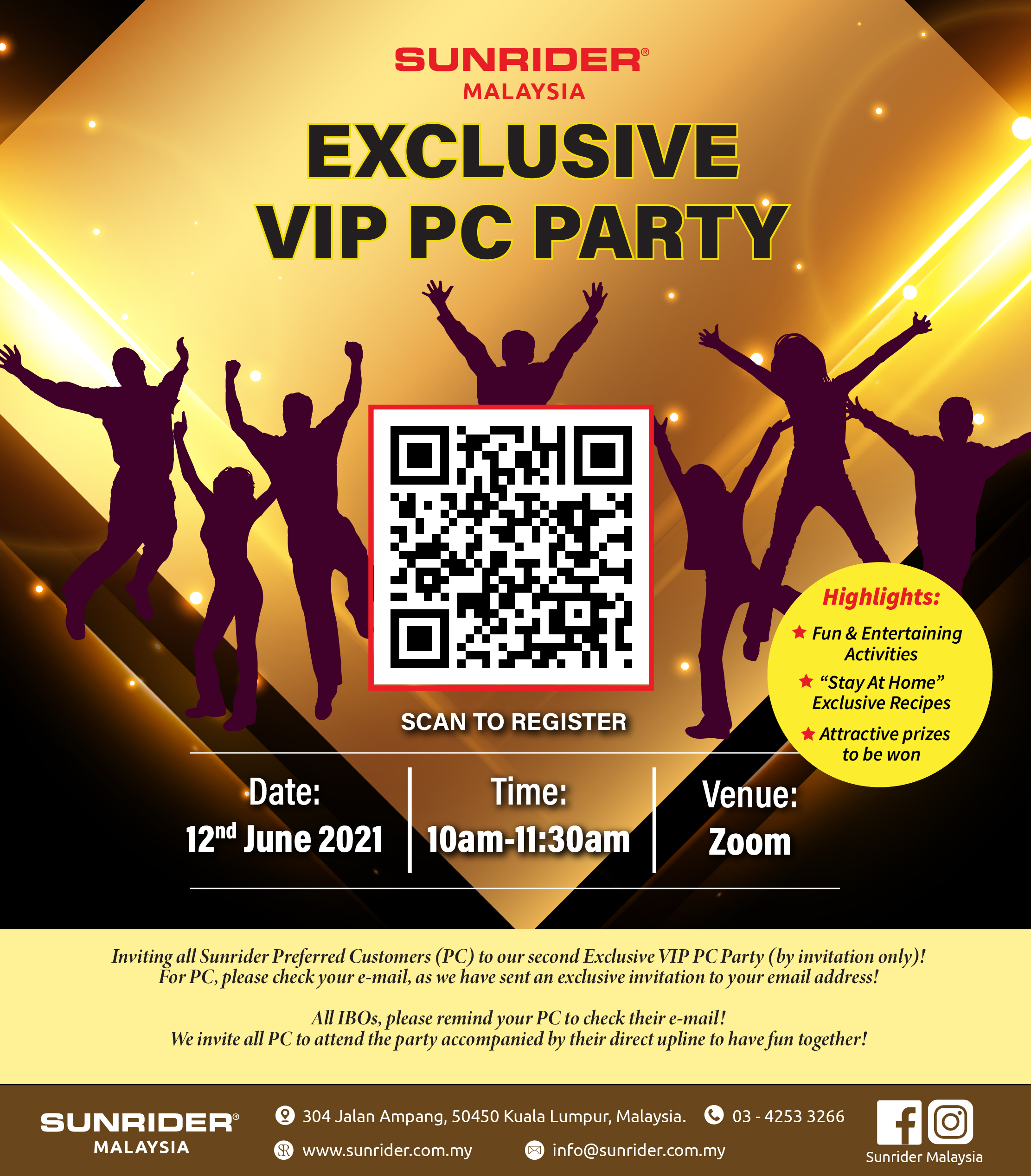 Exclusive VIP PC Party (June 2021)